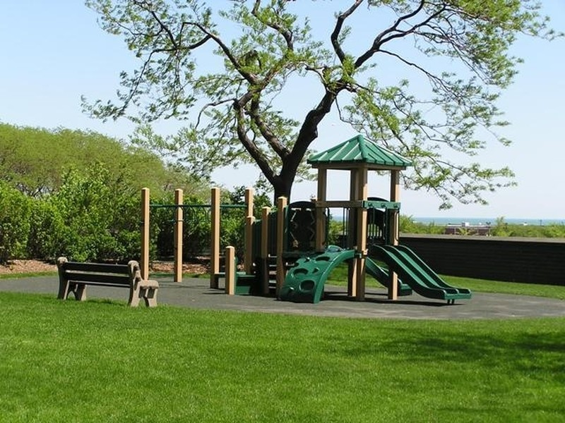 Real Estate Photography - 505 N Lake Shore Drive, #907, Chicago, IL, 60611 - Children's Playground in Park