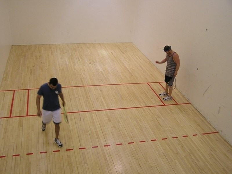 Real Estate Photography - 505 N Lake Shore Drive, #907, Chicago, IL, 60611 - Raquetball/Pickleball/Basketball Court