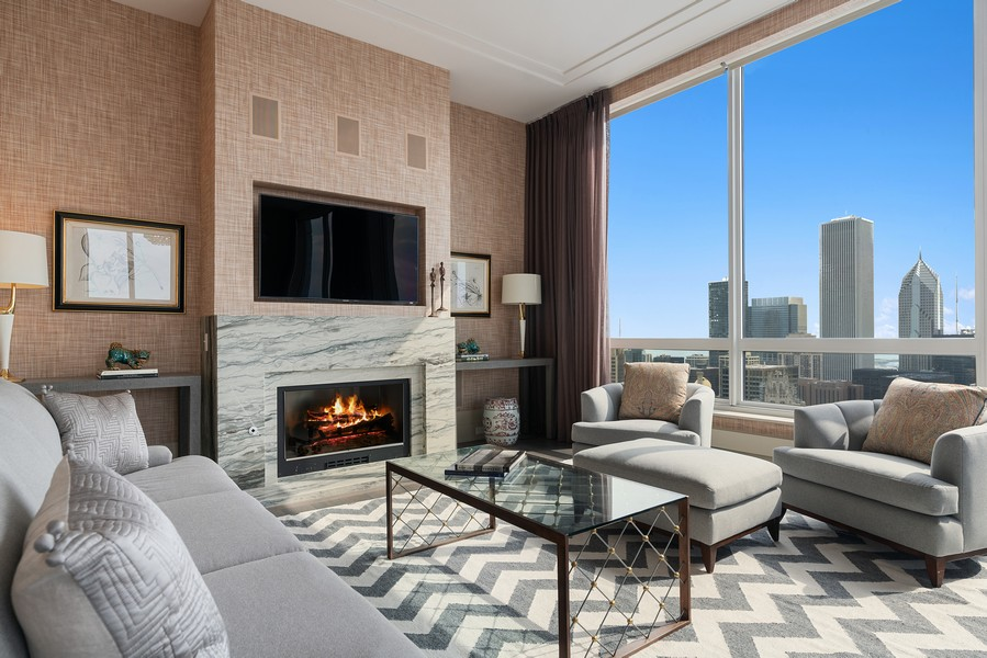 Real Estate Photography - 55 E Erie St, 5401, Chicago, IL, 60611 - Master Bedroom