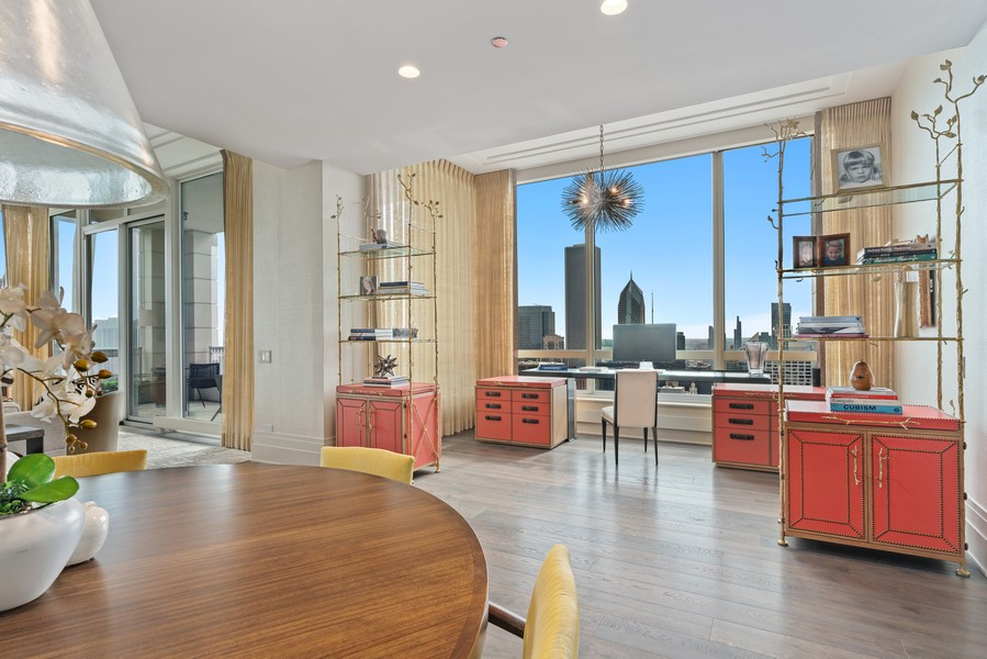 Real Estate Photography - 55 E Erie St, 5401, Chicago, IL, 60611 - Dining Room