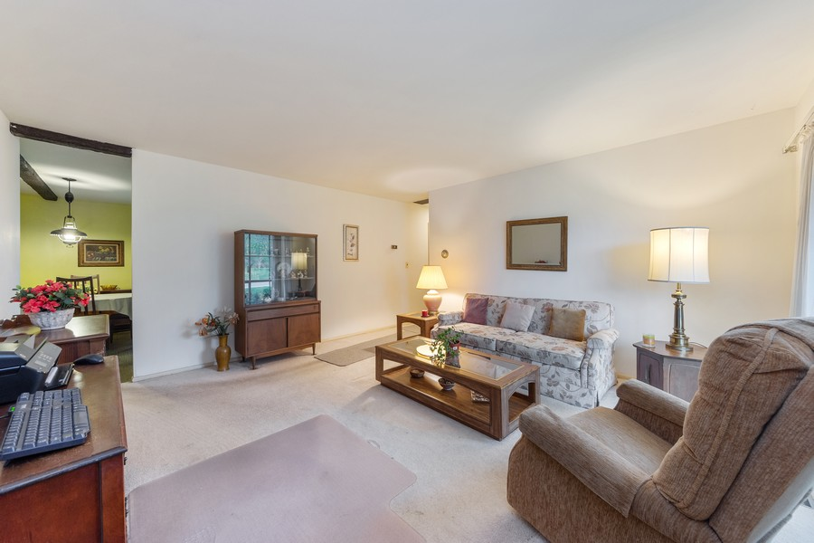 Real Estate Photography - 3405 Ashley Dr., Glenview, IL, 60025 - Living Room