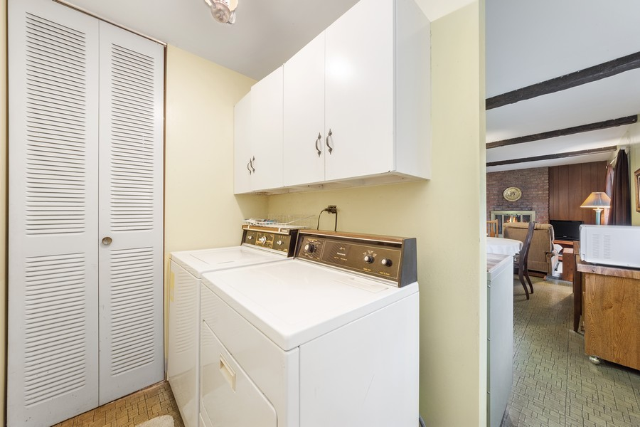 Real Estate Photography - 3405 Ashley Dr., Glenview, IL, 60025 - Laundry Room