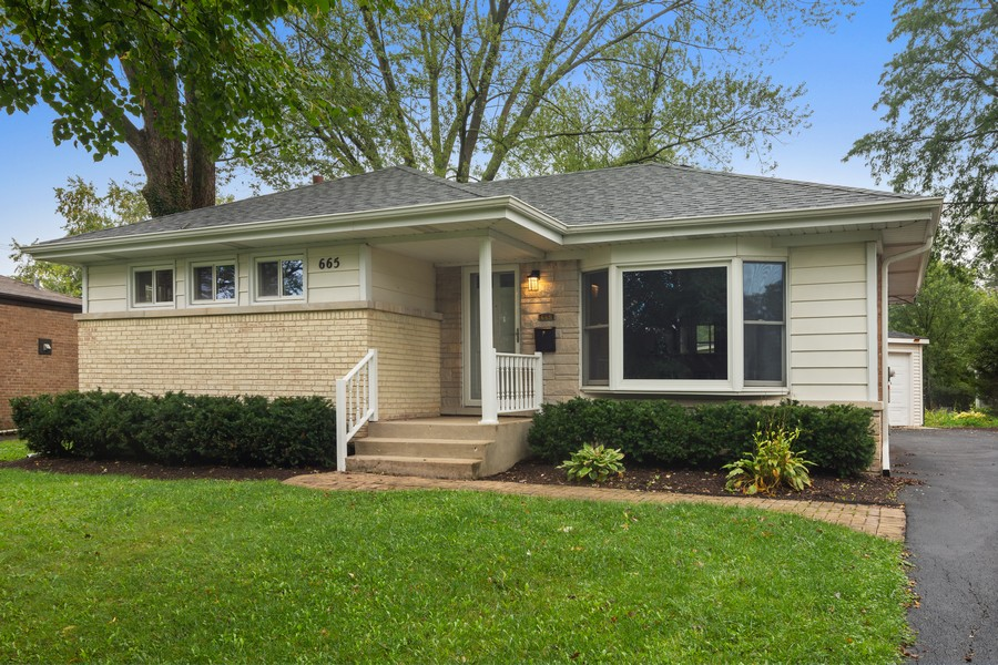 Real Estate Photography - 665 E Clarendon Ct, Arlington Heights, IL, 60004 - Front View
