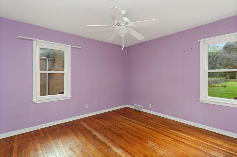 Real Estate Photography - 1924 E Coolspring Ave, Trail Creek, IN, 46360 - 2nd Bedroom