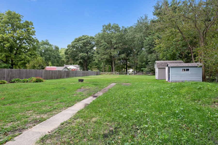 Real Estate Photography - 1924 E Coolspring Ave, Trail Creek, IN, 46360 - Back Yard