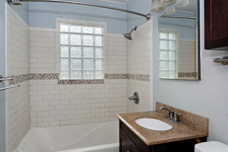 Real Estate Photography - 1924 E Coolspring Ave, Trail Creek, IN, 46360 - Bathroom