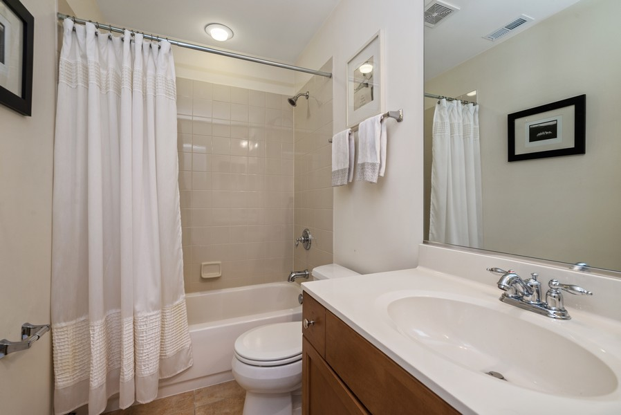 Real Estate Photography - 4520 W Larchmont Ave, Chicago, IL, 60641 - 3rd Bathroom