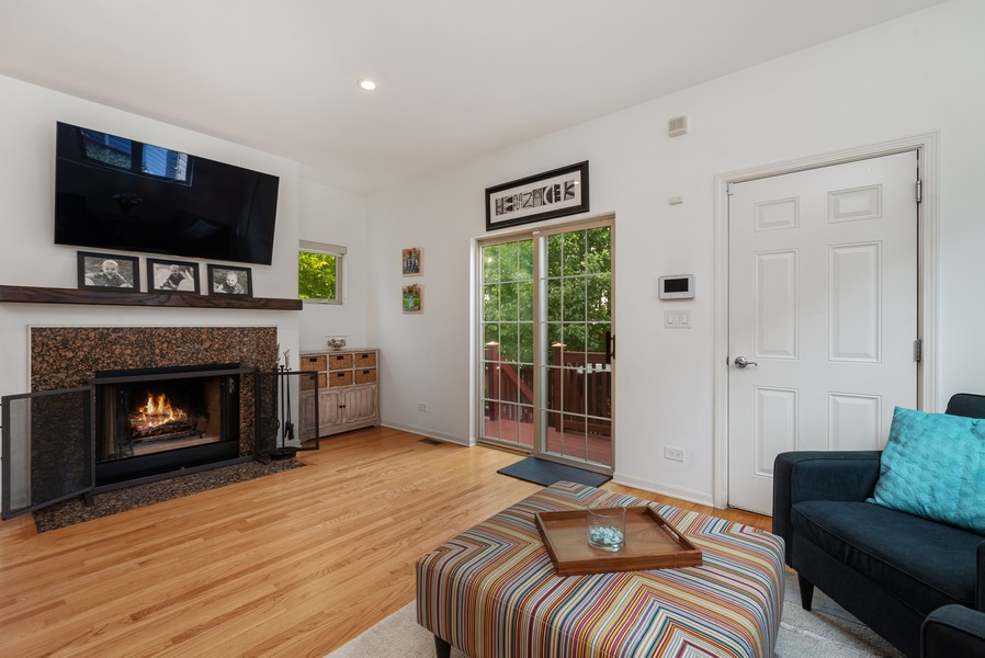 Real Estate Photography - 4520 W Larchmont Ave, Chicago, IL, 60641 - Family Room