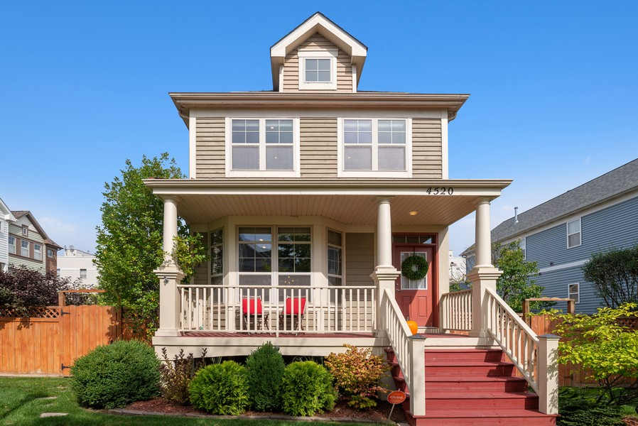 Real Estate Photography - 4520 W Larchmont Ave, Chicago, IL, 60641 - Front View