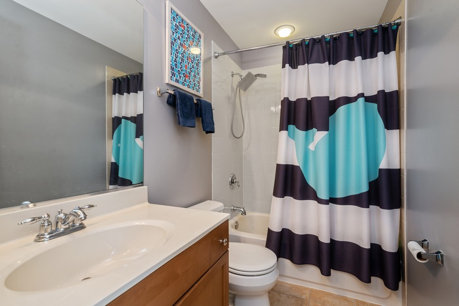Real Estate Photography - 4520 W Larchmont Ave, Chicago, IL, 60641 - 2nd Bathroom