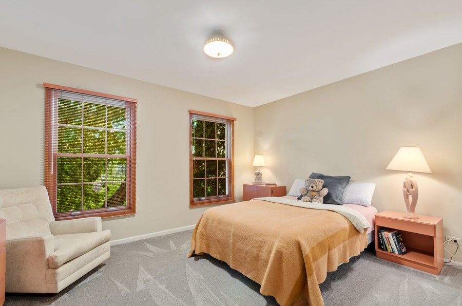 Real Estate Photography - 907 Hobson Dr., Buffalo Grove, IL, 60089 - Bedroom