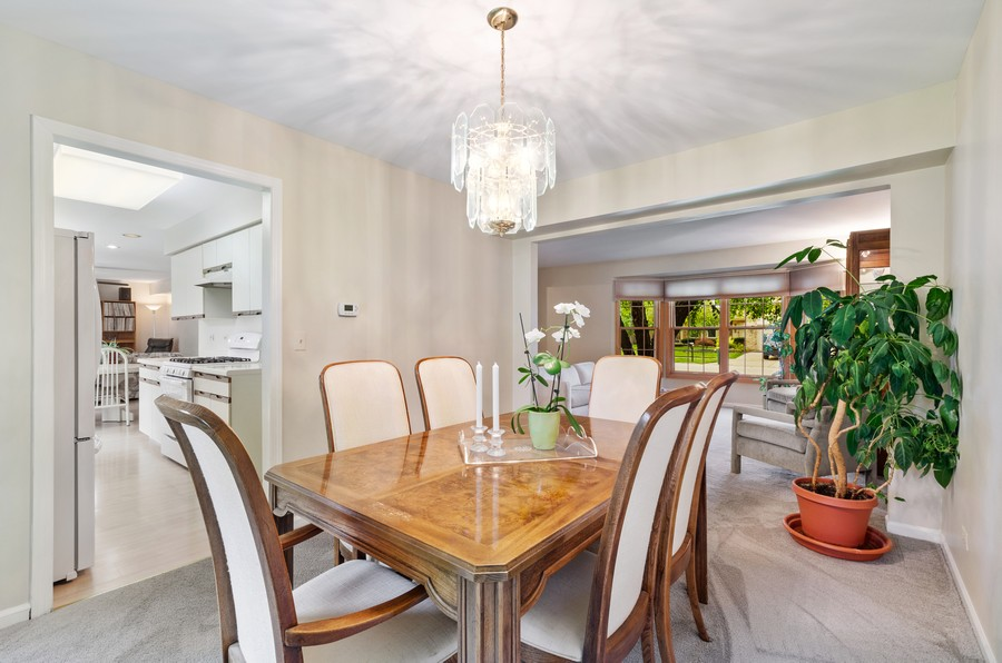 Real Estate Photography - 907 Hobson Dr., Buffalo Grove, IL, 60089 - Dining Room
