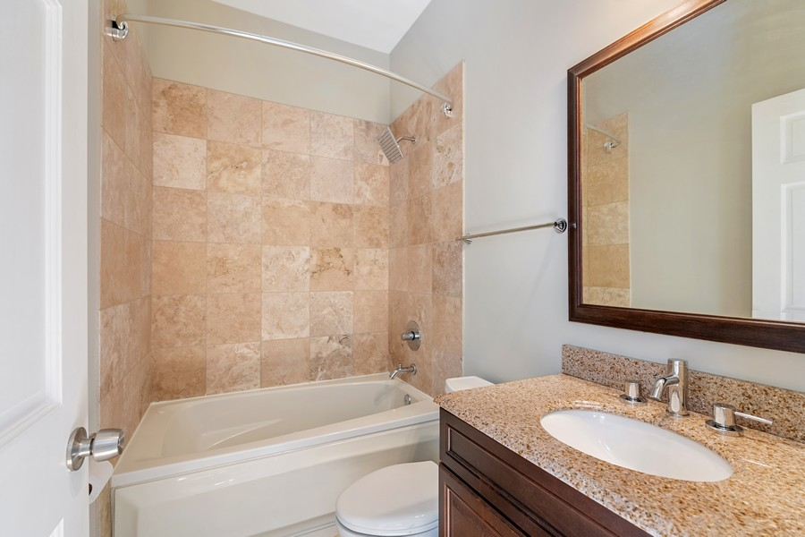 Real Estate Photography - 2740 N Kimball, 2R, Chicago, IL, 60647 - Master Bathroom