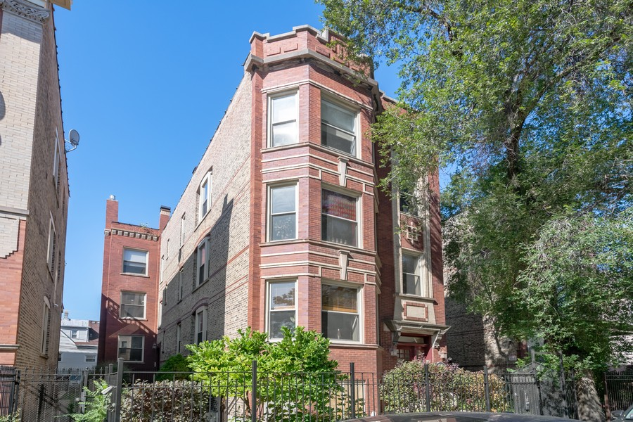 Real Estate Photography - 2740 N Kimball, 2R, Chicago, IL, 60647 - Front View