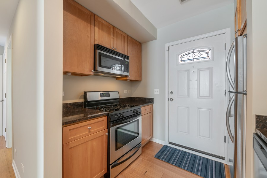 Real Estate Photography - 2740 N Kimball, 2R, Chicago, IL, 60647 - Kitchen