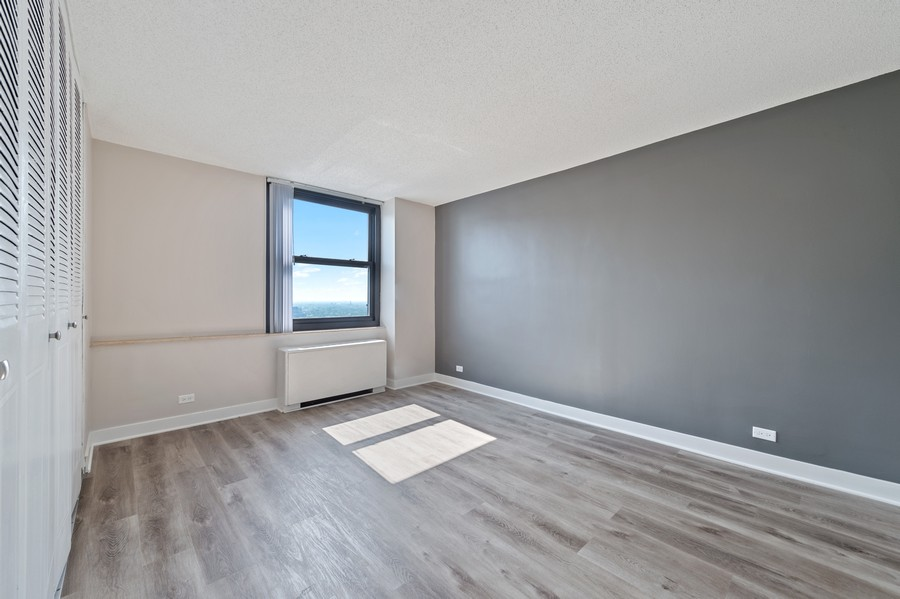 Real Estate Photography - 5701 N Sheridan, Unit 29A, Chicago, IL, 60614 - Bedroom