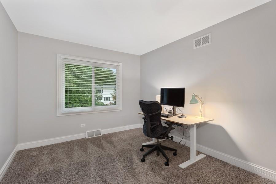 Real Estate Photography - 183 Newton, Glen Ellyn, IL, 60137 - 2nd Bedroom