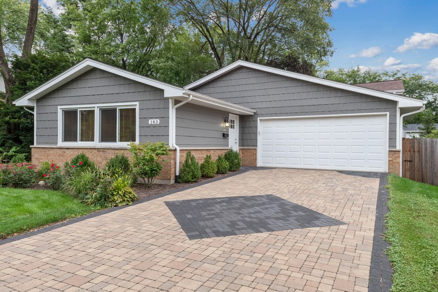 Real Estate Photography - 183 Newton, Glen Ellyn, IL, 60137 - Front View