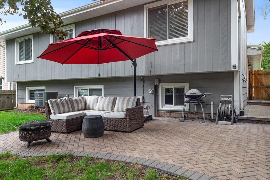 Real Estate Photography - 183 Newton, Glen Ellyn, IL, 60137 - Rear View