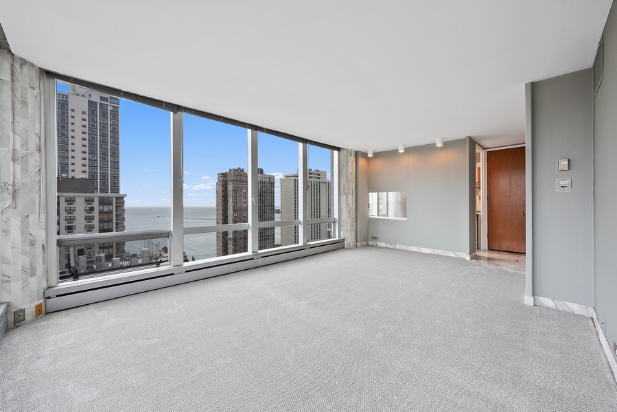 Real Estate Photography - 1300 N. Astor St., 25B, Chicago, IL, 60610 - Living Room