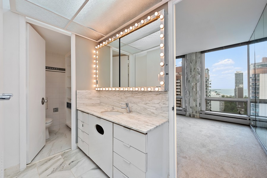 Real Estate Photography - 1300 N. Astor St., 25B, Chicago, IL, 60610 - Master Bathroom