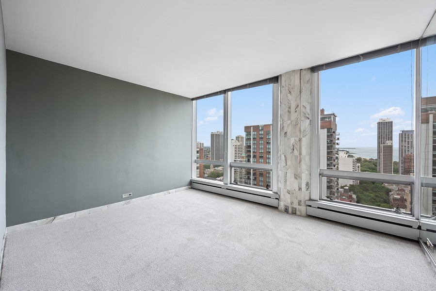 Real Estate Photography - 1300 N. Astor St., 25B, Chicago, IL, 60610 - Master Bedroom