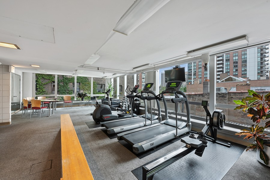 Real Estate Photography - 1300 N. Astor St., 25B, Chicago, IL, 60610 - Gym