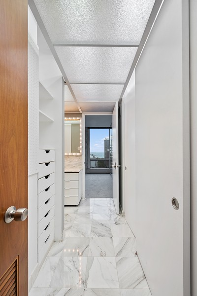 Real Estate Photography - 1300 N. Astor St., 25B, Chicago, IL, 60610 - Master Bedroom Closet