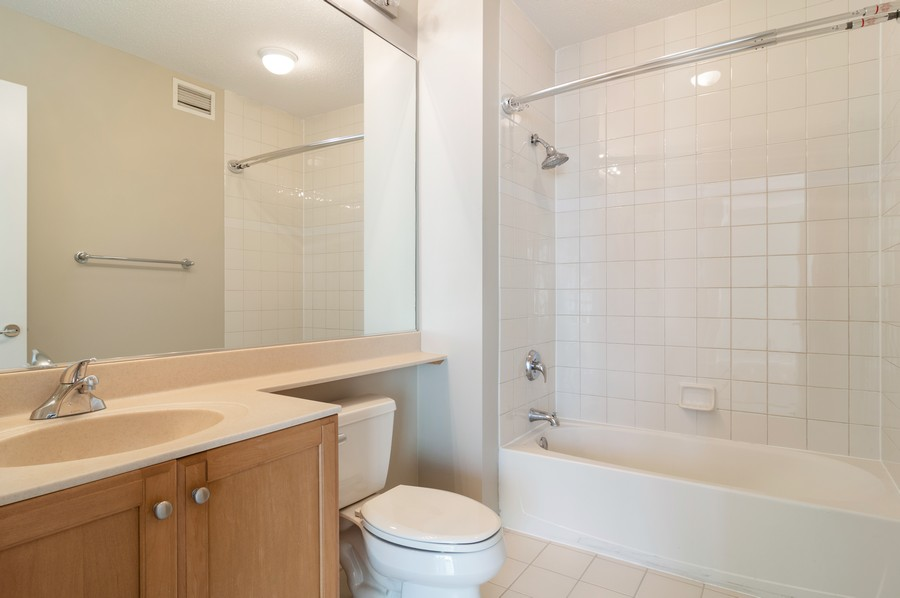 Real Estate Photography - 400 N La Salle, Unit 4207, Chicago, IL, 60654 - Bathroom