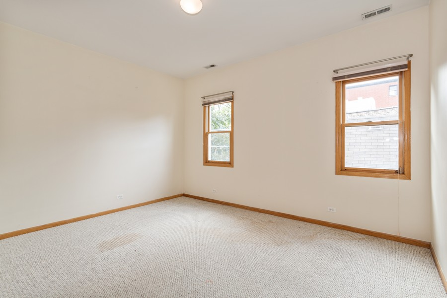 Real Estate Photography - 651 W Wellington, Unit 3, Chicago, IL, 60657 - Bedroom