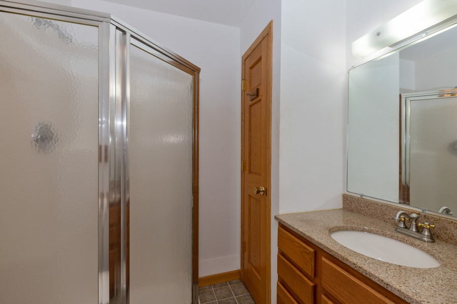 Real Estate Photography - 2907 Salem Blvd, Zion, IL, 60099 - Master Bathroom