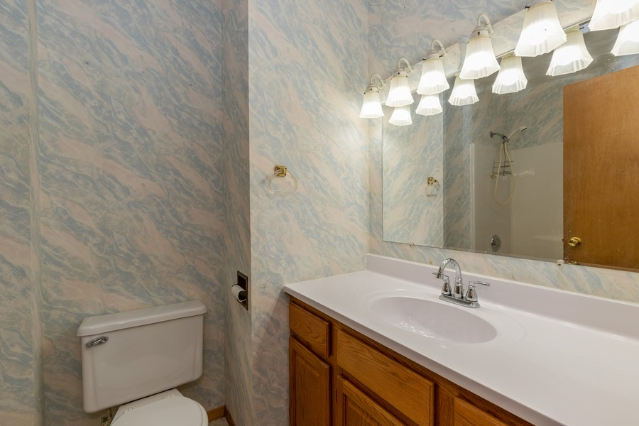 Real Estate Photography - 2907 Salem Blvd, Zion, IL, 60099 - Bathroom