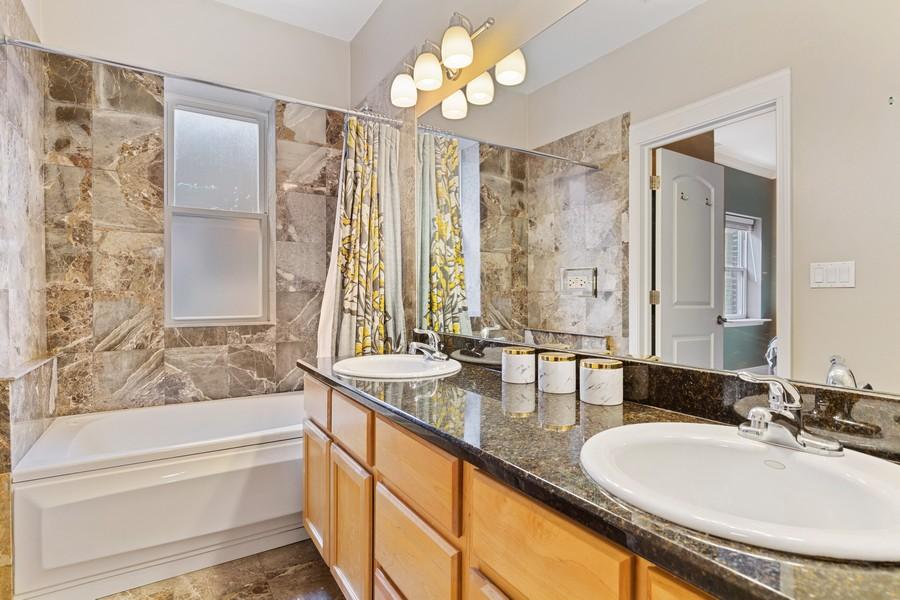 Real Estate Photography - 2539 N Hamlin Ave #2N, Chicago, IL, 60647 - Master Bathroom