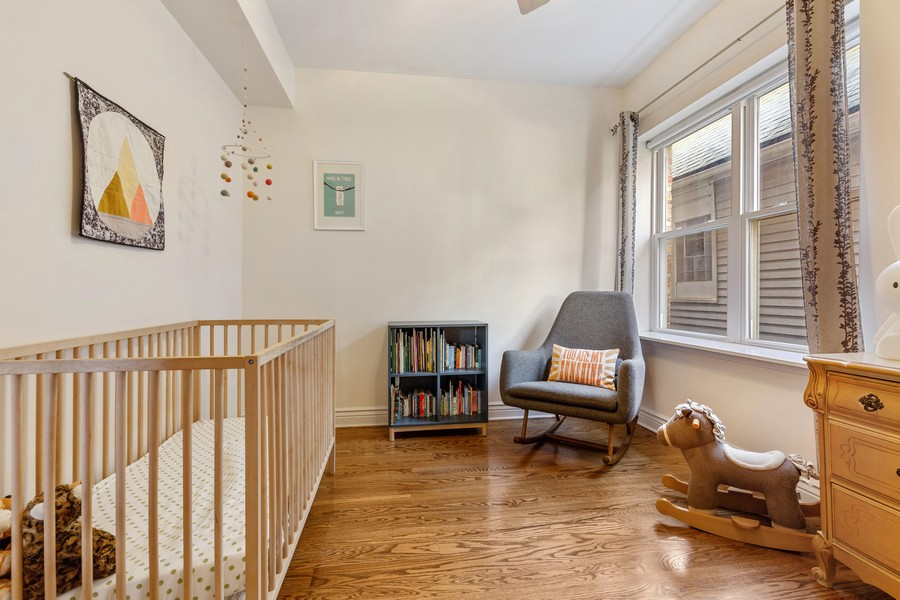 Real Estate Photography - 2539 N Hamlin Ave #2N, Chicago, IL, 60647 - 2nd Bedroom