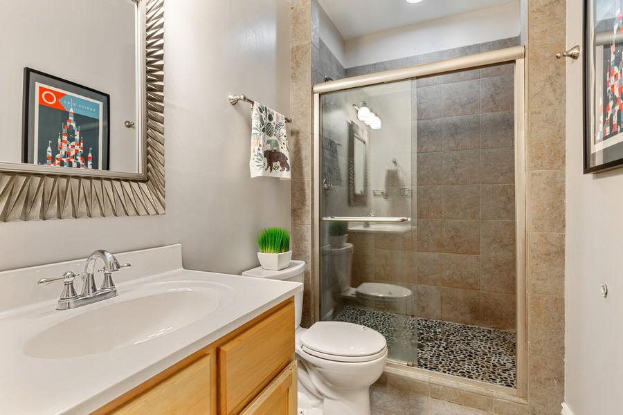 Real Estate Photography - 2539 N Hamlin Ave #2N, Chicago, IL, 60647 - Bathroom