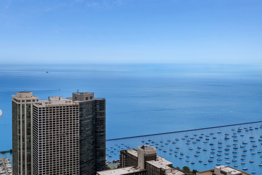 Real Estate Photography - 225 N Columbus Dr, 6808, Chicago, IL, 60601 - View
