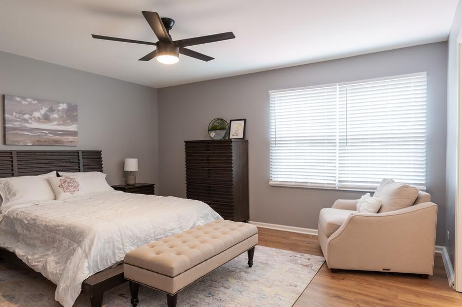 Real Estate Photography - 703 Alsace Cir, Buffalo Grove, IL, 60089 - Master Bedroom