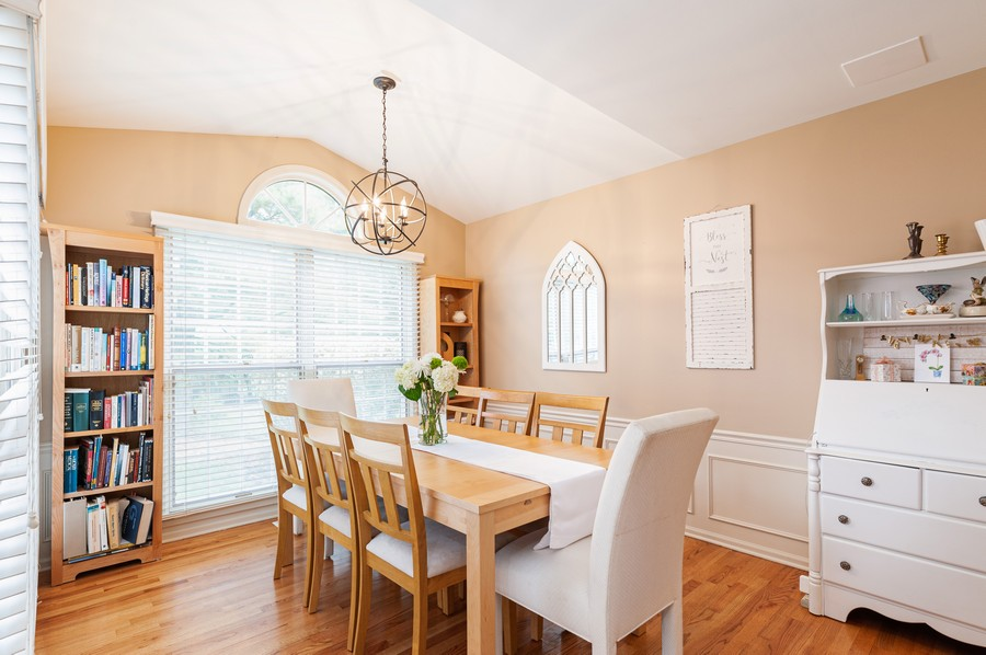 Real Estate Photography - 703 Alsace Cir, Buffalo Grove, IL, 60089 - Dining Room