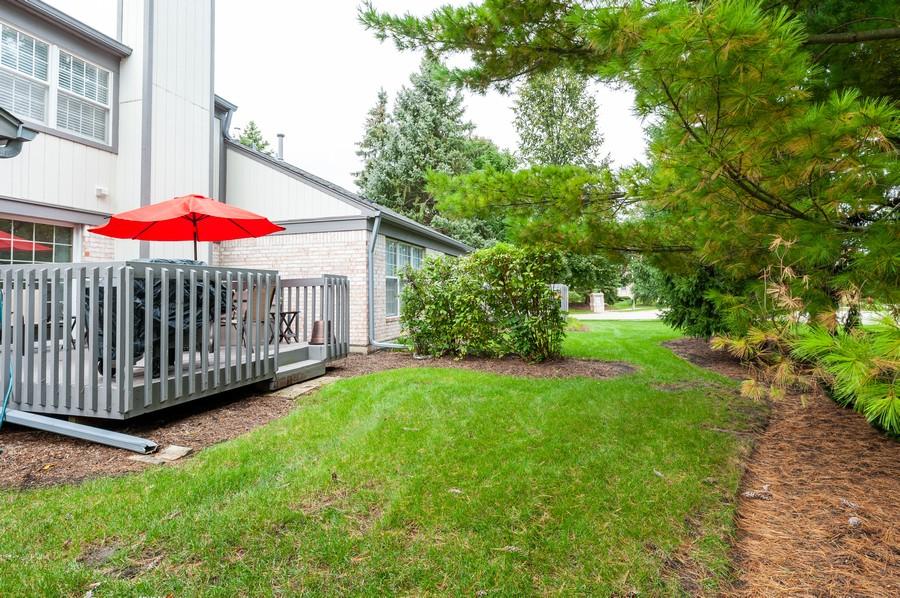 Real Estate Photography - 703 Alsace Cir, Buffalo Grove, IL, 60089 - Rear View