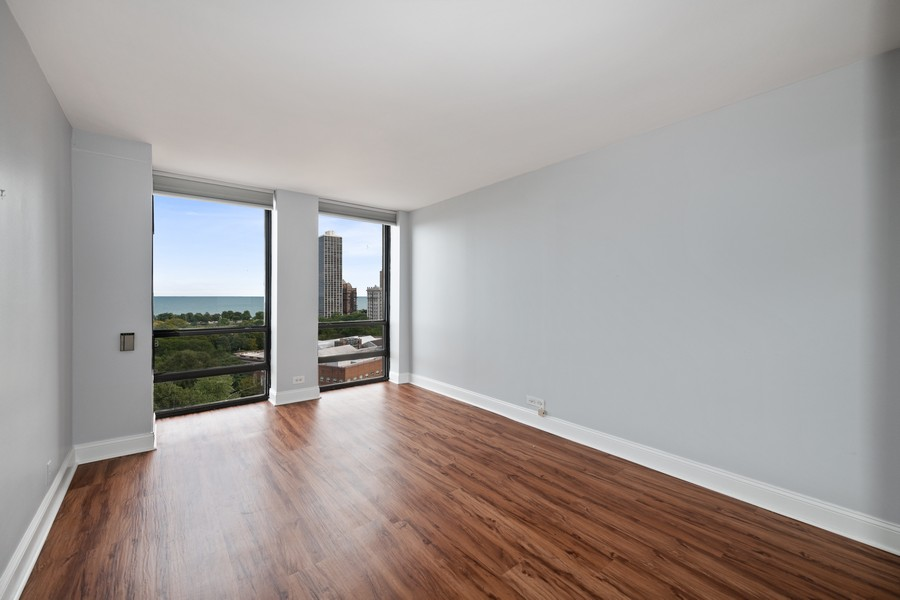 Real Estate Photography - 1660 N. LaSalle St., #1507, Chicago, IL, 60614 - Master Bedroom