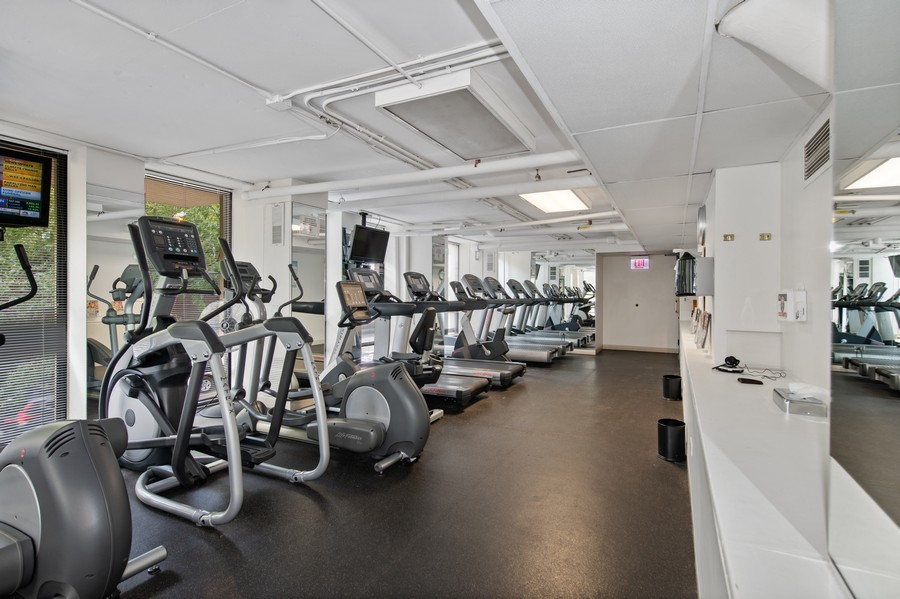 Real Estate Photography - 1660 N. LaSalle St., #1507, Chicago, IL, 60614 - Gym