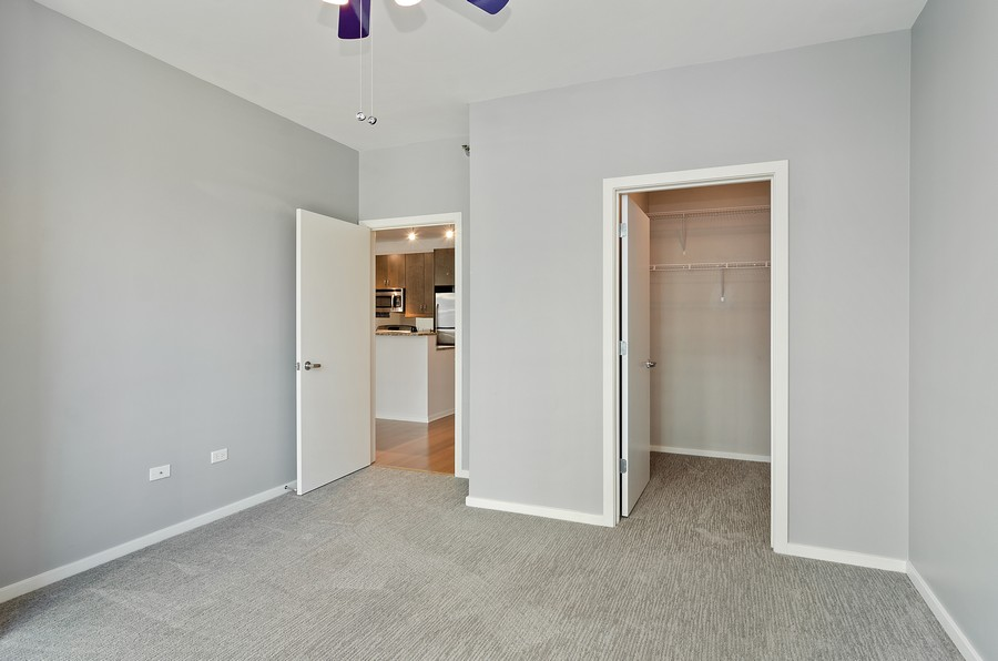 Real Estate Photography - 125 S. Green Street, Unit 302A, Chicago, IL, 60607 - Bedroom
