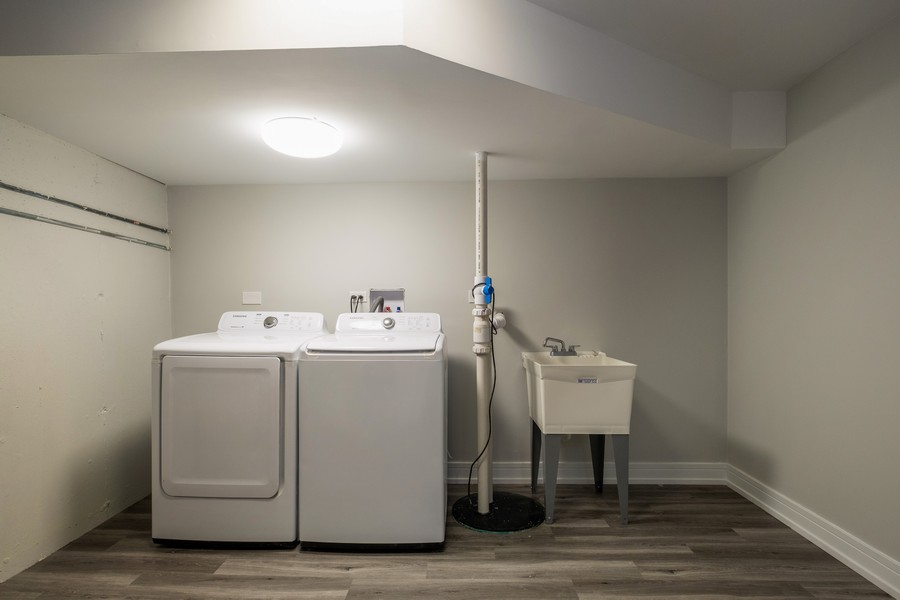 "Real Estate Photography - 1736 Wildberry ""A"", Glenview, IL, 60025 - Laundry Room"