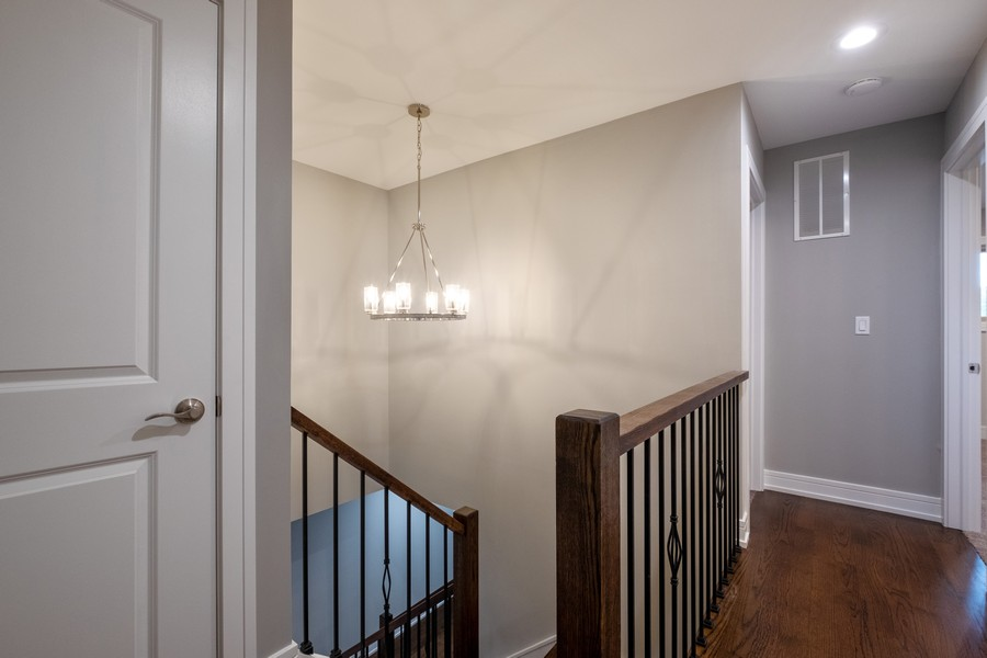 "Real Estate Photography - 1736 Wildberry ""A"", Glenview, IL, 60025 - Hallway"