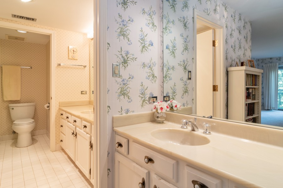Real Estate Photography - 7575 W Lake St, 3A, River Forest, IL, 60305 - Master Bathroom