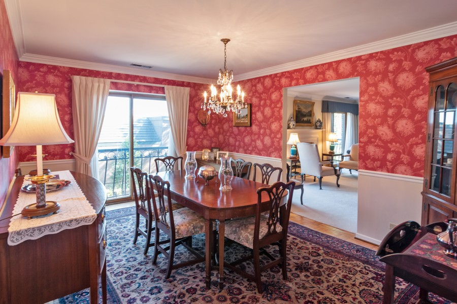Real Estate Photography - 7575 W Lake St, 3A, River Forest, IL, 60305 - Dining Room