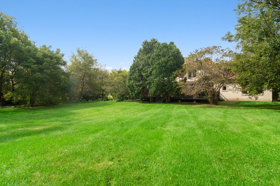Real Estate Photography - 7N115 FOX BEND DRIVE, SAINT CHARLES, IL, 60175 - Back Yard