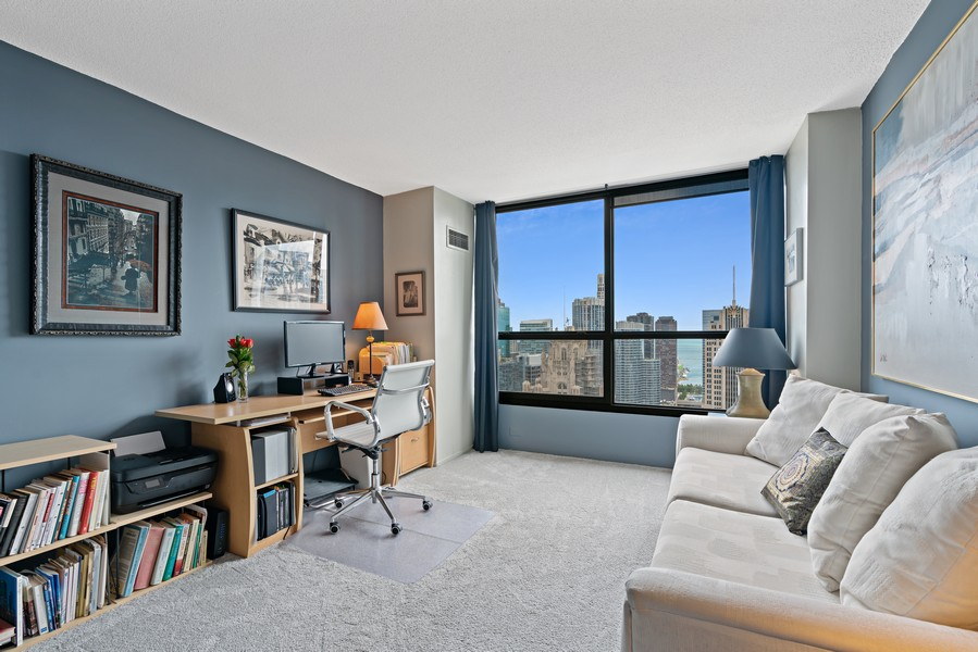 Real Estate Photography - 405 N Wabash Ave, #4810, Chicago, IL, 60611 - 2nd Bedroom