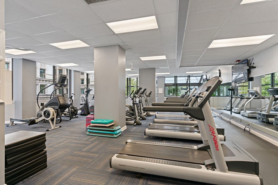 Real Estate Photography - 405 N Wabash Ave, #4810, Chicago, IL, 60611 - Gym