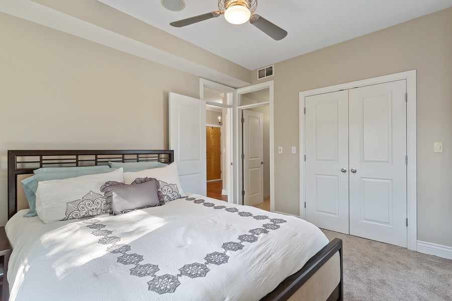 Real Estate Photography - 1608 West Byron Street, #3, Chicago, IL, 60613 - Master Bedroom